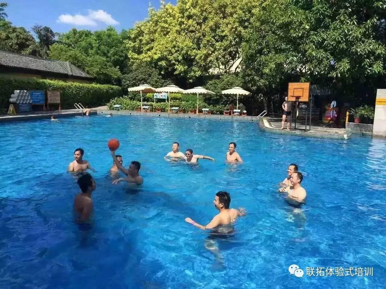 泳池party