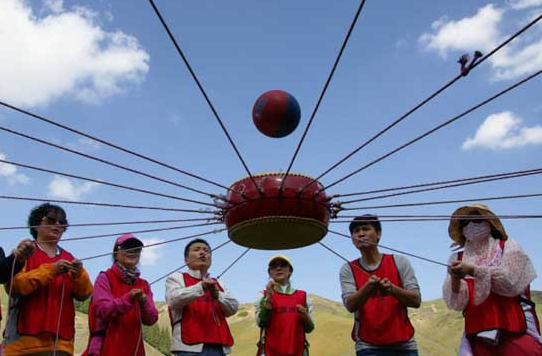 成都聯拓體驗式培訓-游覽古羌城、藏寨,采摘最好吃的車厘子(大櫻桃)!